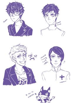 p5 baby bois by wrono000