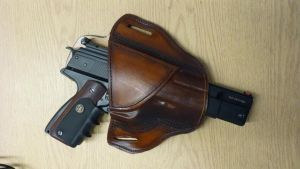 Pancake Holster by MountainLeather