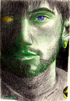 Portrait of Renegade in Green by CyrionB