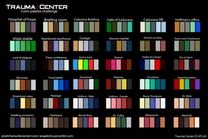 TC Color Palette Meme by stilesmd