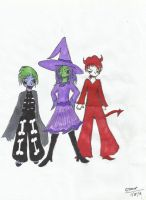 Simply Three of a Kind by SajahHearts3919842