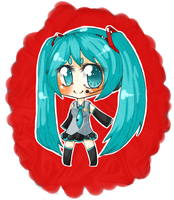 Chibi Miku by PakajunaTufty