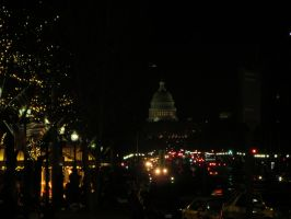 D.C. at Night by Ginesthoi