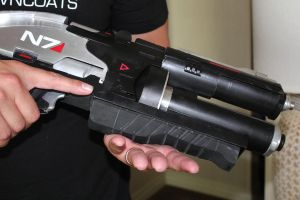 N7 Valkyrie Rifle build (solid Aluminum) by NaughtyZoot