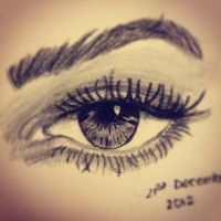Realistic Eye by Jessie202