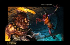 Spirit Guard Udyr - League Of Legends Page 3 by Tonywash