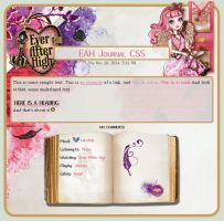 C.A. Cupid Journal CSS by A-queenoffairys