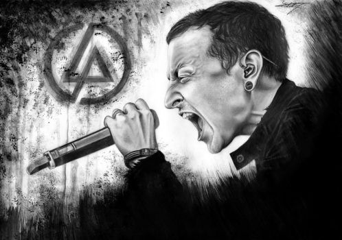 Chester Bennington by Dalima-Dith