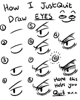 How I draw EYES by 15p
