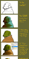 Pensive Orc Tutorial by grisser