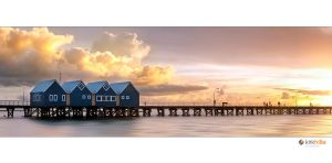 Busselton Jetty Pan by Furiousxr