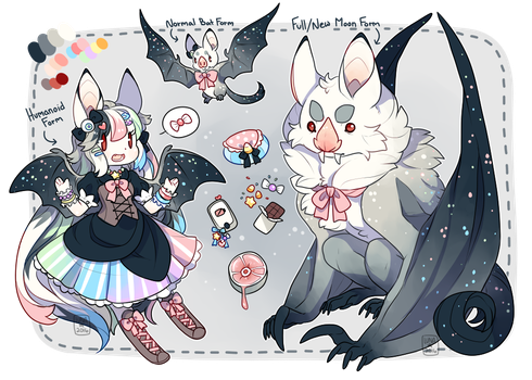 Sweet Candied Vampire {Closed} by LunarAdopts