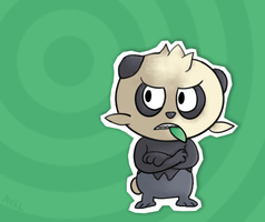 Pokemon X and Y: Pancham by Flashpole