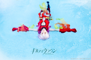 Inori Yuzuriha from Guilty Crown - Cosplay by yukinohanacosplayart