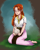 Malon at peace by TheLinkMaster