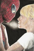 4-Spiderman and Gwen Stacy by The-Shadow-artist