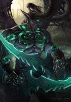 Illidan Stormrage by NOOSBORN