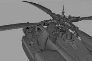 AH 64 Longbow. All NURBS. Done by Packe777