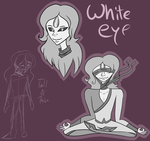 .:FanOC:. White Eye by AliceDaRabbit