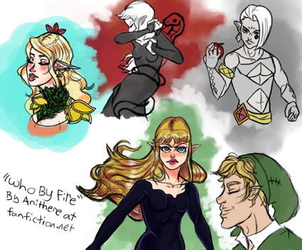 Who By Fire sketchdump by ani-art