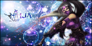 Signature Akali - League of Legends by Ellanna-Graph