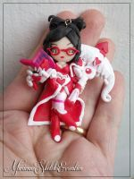 Heartseeker Vayne, the Night Hunter - Pendant by DarkettinaMarienne