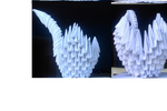 Swan 3d origami by ShrimpRapidash123