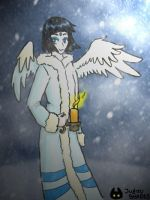 Taelia the Snow Faerie by ShadesSagacious