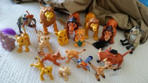 Lion king figure collection by Vesperwolfy87