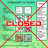 Comissions Points - Closed by Draareg