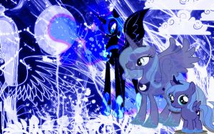 Luna.Nightmare Moon by Koryt2345