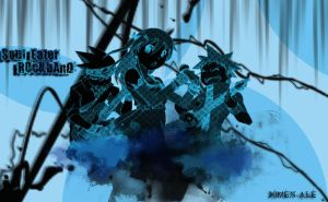 Blue'nBlue - Soul Eater Wallpaper by XIMEN-ALE