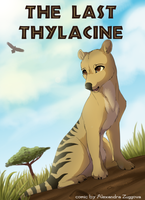 The Last Thylacine comic COVER by LuckyPaw
