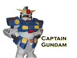 Captain Gundam by blazeraptor