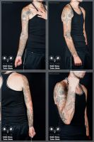 Tattoo :: HG Giger Style by LilithDivine-Tattoo