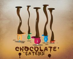 Chocolate eaters v2 by fanke