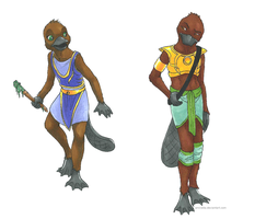AT: LoC Platypus Tribe by Amayensis