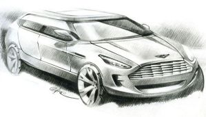 Aston Martin Touring by ChrysRoos