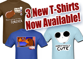 3 New T-Shirts Now Available! by JoeGPcom