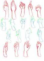 Hands Practice by DuckyEmpire