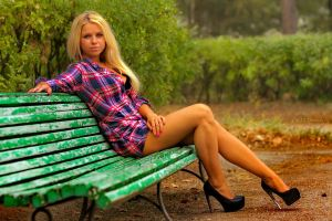 on the bench by 1tonio