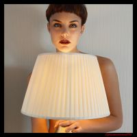 PORTRAIT WITH LAMP ON by ZIGGYCHANGES
