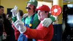 Luigi and Mario Cosplay by Navalius