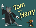Tom and Harry by StarvingFartist