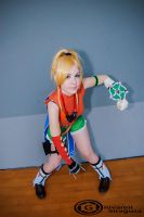 Rikku - Battle pose! by Bexxin