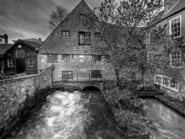 City Mill HDR mono by Dogbytes