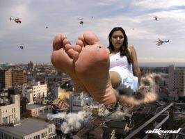 Too Big for Shoes... by Nikemd