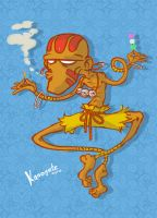 Dhalsim vs. Dango by Kanogetz