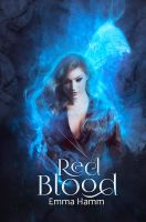 Book Cover - RED BLOOD by MirellaSantana
