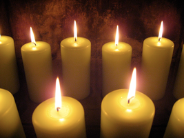 Candles by photographfreakazoid